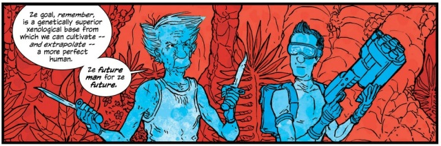 Art from The Manhattan Projects