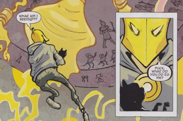 Art from Doctor Fate #1