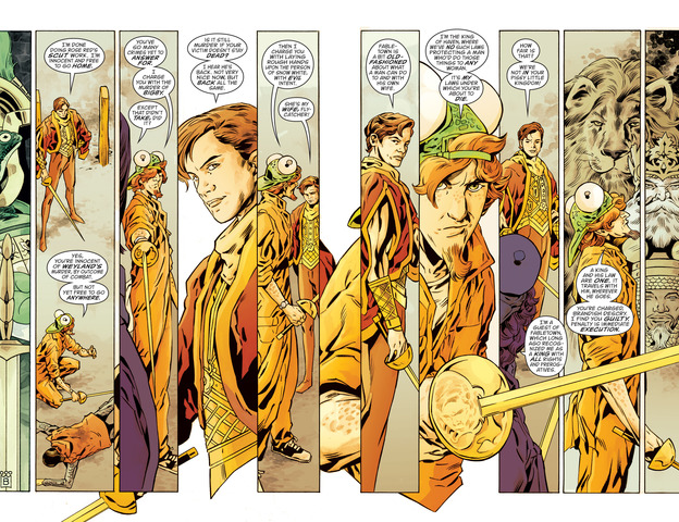 Art from Fables Vol. 22